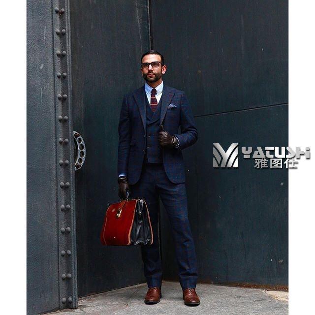 男性职业形象打造要靠西服