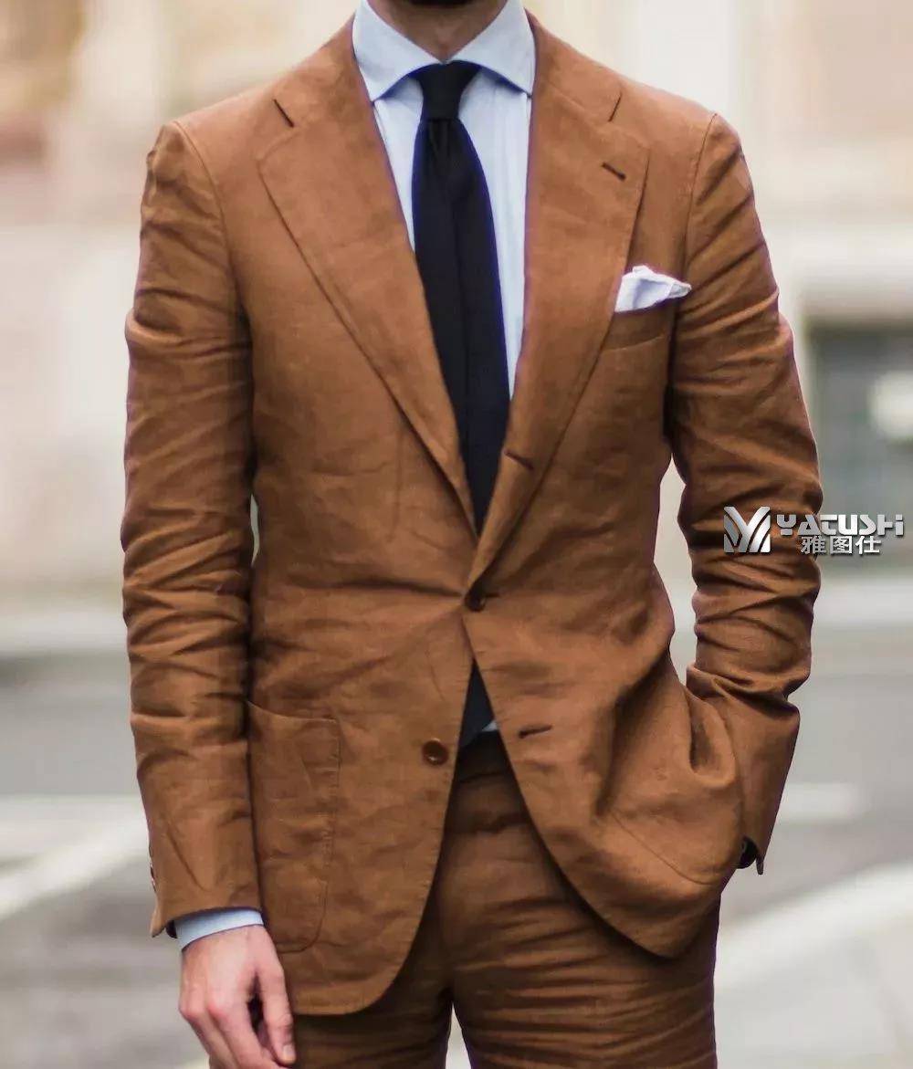 男士夏季西装,炎定做西装热天气的着装指南