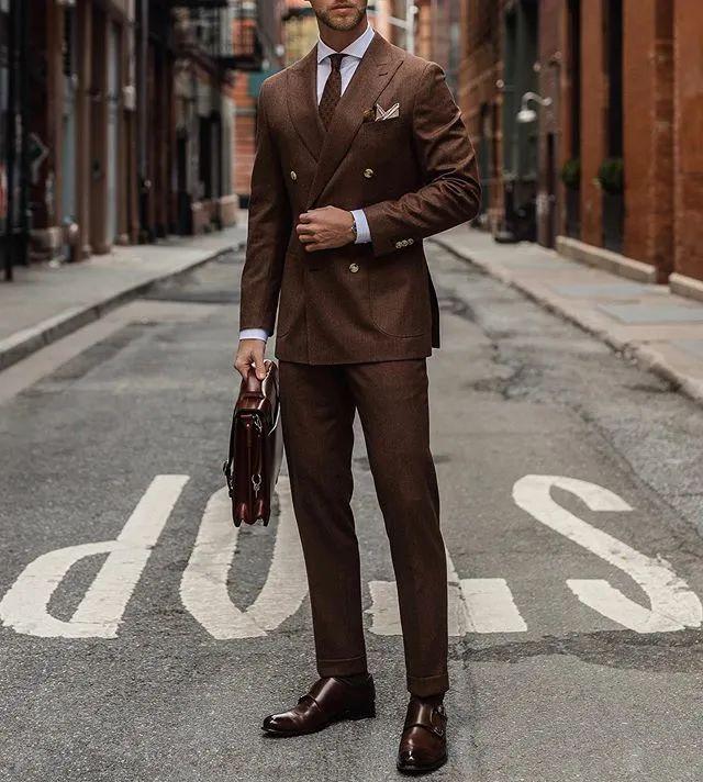 如何选择适合你的量身定制西装驳领?